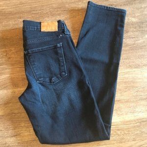 Lucky Brand Blue Jeans Brooke Crop 00/24 x 27.5